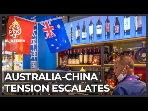 Australia-China tension escalates over trade tariffs, fake images