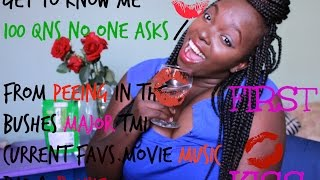 Get To Know Me 99 QUESTIONS  No One Ever Asks TAG!