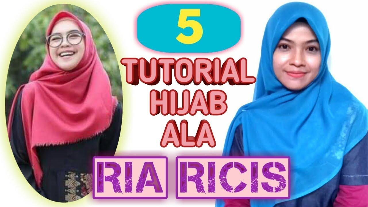Tutorial Hijab Ria Ricis Segi Empat Tutorial Hijab Segi Empat Simple Ria Ricis Youtube