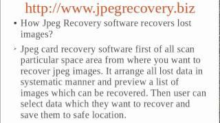 Jpeg Recovery