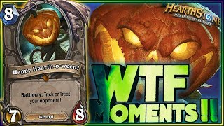 Hearthstone Frozen Throne WTF Moments   Funny and lucky Rng Moments 46
