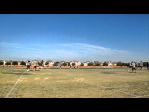 Houston Texans Practice on Ranchview High School Football Field 2015