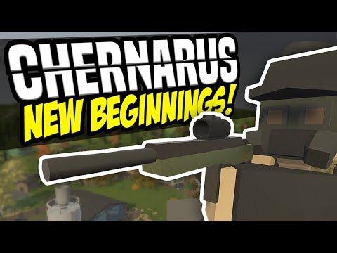 NEW BEGINNINGS - Unturned Chernarus Survival #1