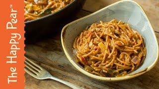 One Pot Spaghetti Bolognese   Easy Vegan Dinner