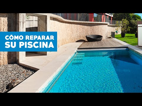 C mo reparar la piscina youtube for Materiales para una piscina de hormigon