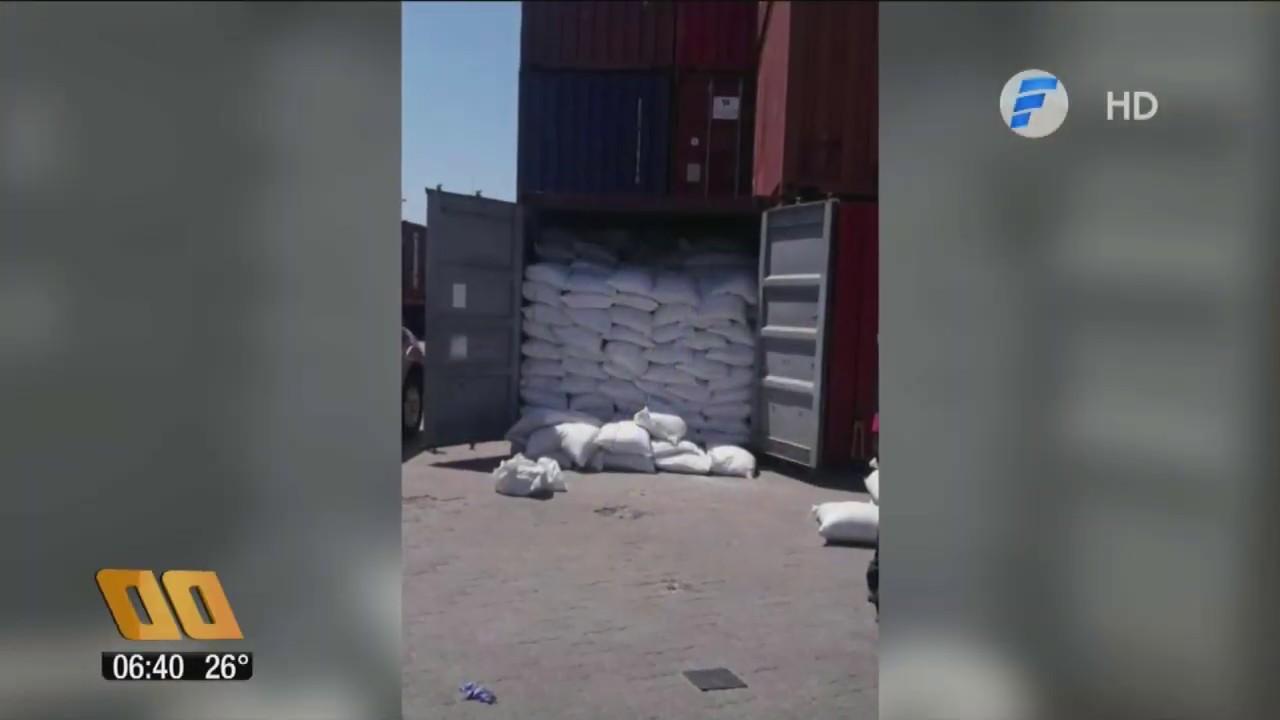 Descubren 3.000 kilos de cocaína en un contenedor en el puerto de Montevideo provenientes de Paraguay