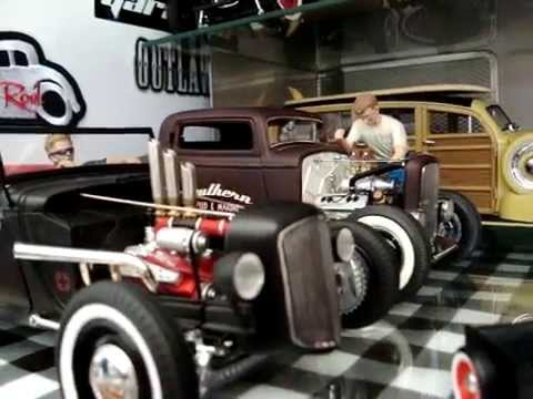 1 18 Hot Rod Rat Rod Gmp Highway Diecast Youtube