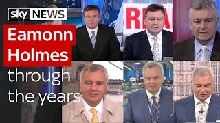 Eamonn Holmes through the years