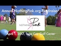 Nothing Pink Breast Cancer Testing Fundraiser