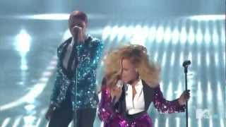 Repeat youtube video Beyonce- Love on Top mtv live