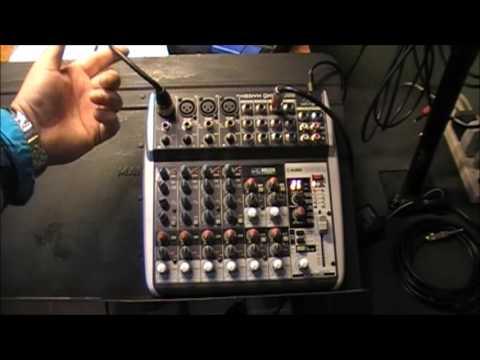 Behringer Mixer: How To Do A Setup