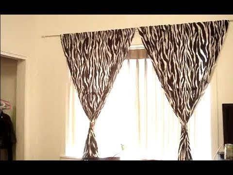 Decorating Tips: Curtains - YouTube