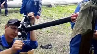 монтаж концевой муфты Raychem(райхем)(концевая муфта для экранированного одножильного кабеля с пластмассовой изоляцией на напряжение до 42 кВ..., 2016-08-01T17:47:45.000Z)