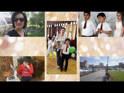 Влог: Рубен - Гвоздь Программы, Утренний Ереван, Концерт в Школе