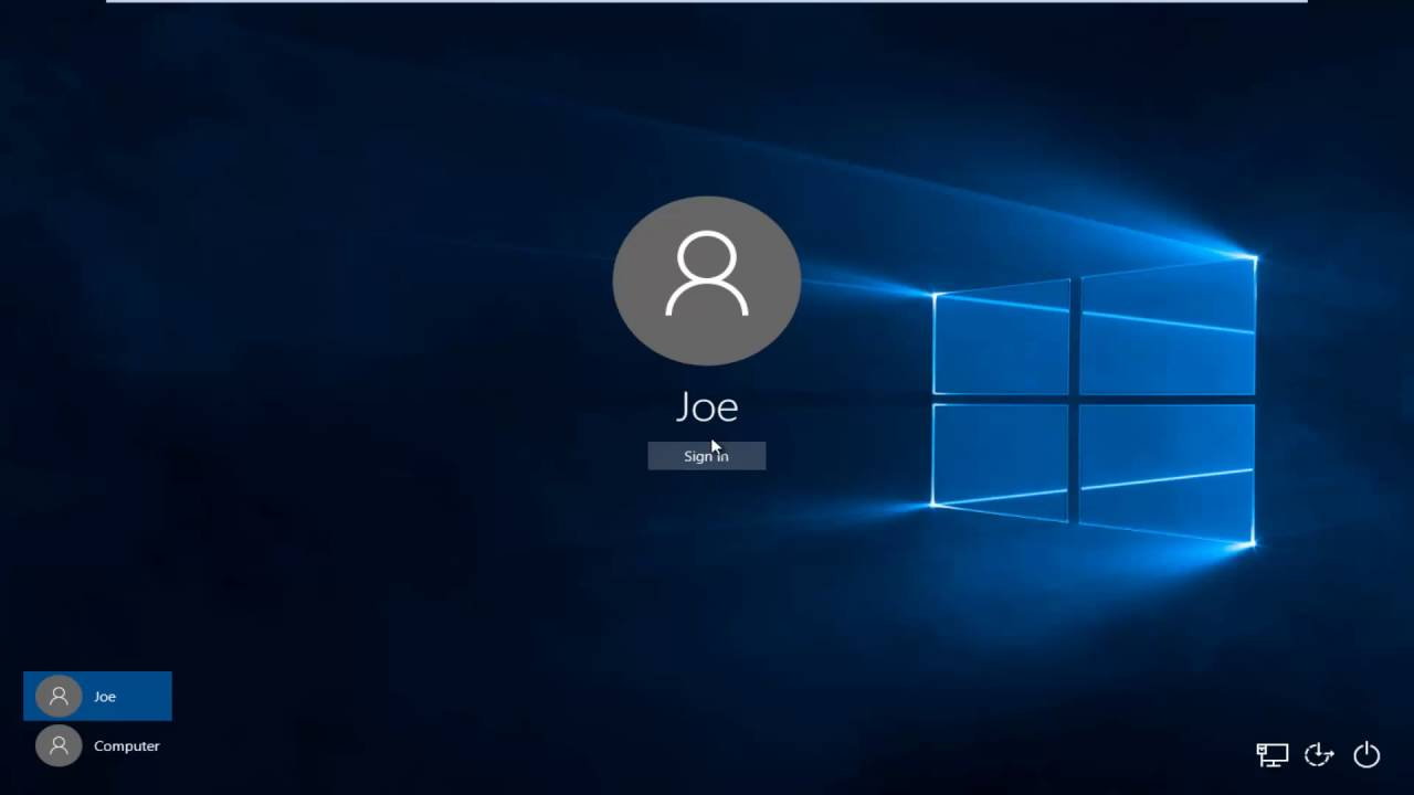 Windows 10: How To Switch User Account WITHOUT Signing Out