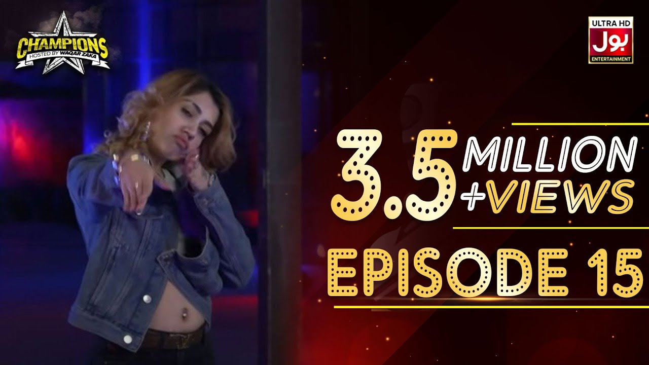Champions With Waqar Zaka Episode 15 | Champions BOL House | Waqar Zaka Show