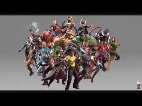 Marvel Ultimate Alliance 2 Pause Menu Theme(Game Rip)