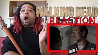 """THE WALKING DEAD   Season 7 Episode 7 - """"Sing Me a Song""""   REACTION (S07E07)"""
