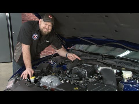 2015-2016 Mustang GT Roush Phase 1 Supercharger Kit Installation
