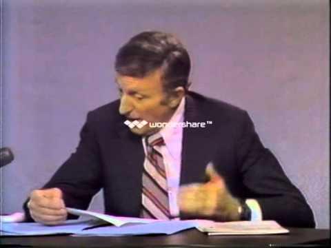 Lou Gordon Interviewing Frank Rizzo 1972 (Rizzo Walks Out)