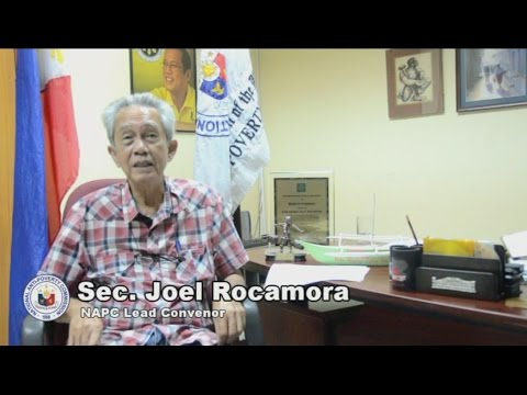 Statement of Sec. Rocamora on Convergence Program in Zamboanga