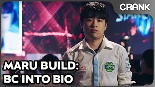 Maru Build: BC into Bio - Crank's StarCraft 2 Variety