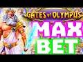 OMG MAX BET 😱 BONUS GATES OF OLYMPUS ⚡️ BACK TO BACK 🔥 LET'S MAKE ZEUS PAY SOME BIG WINS‼️