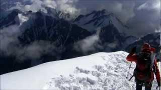 Mont Blanc gopro hero