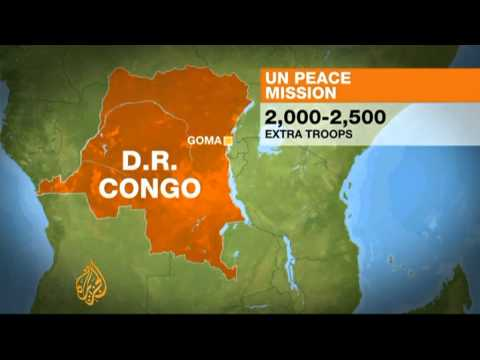 UN to expand DR Congo peacekeeping mission