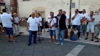La festa di Francesco Roberti in piazza Duomo