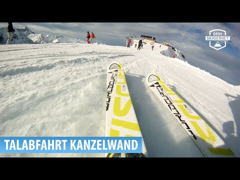 Skigebiet Fellhorn/Kanzelwand: Talabfahrt Kanzelwand - Riezlern