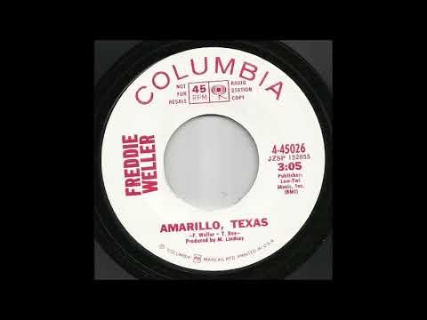 Freddy Weller - Amarillo, Texas