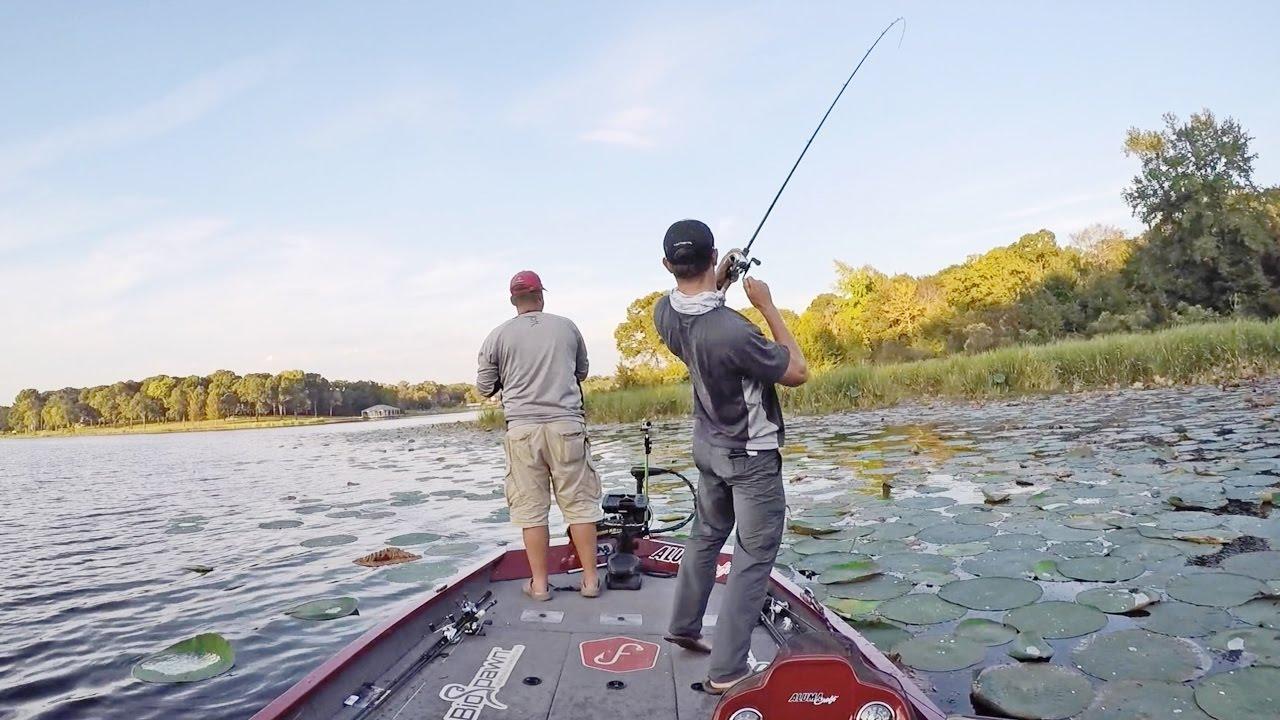 Fishing Fall Texas Largemouth Bass - ft  Flukemaster