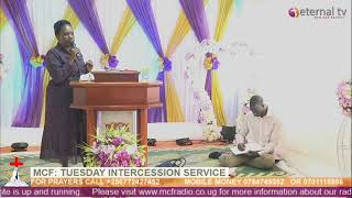 MCF: Tuesday Intercession Service with Pastor Justine Mugerwa 7-July-2020