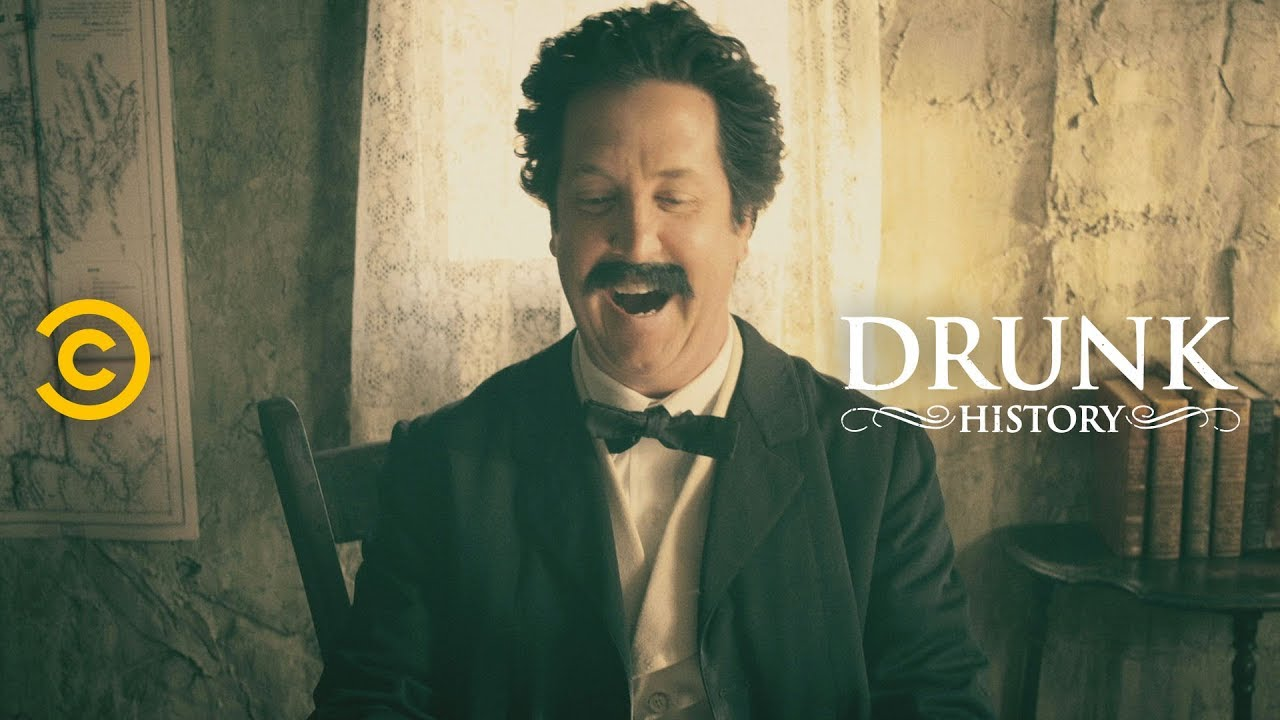 The Crazy Twists and Turns of Mark Twain's Early Career - Drunk History