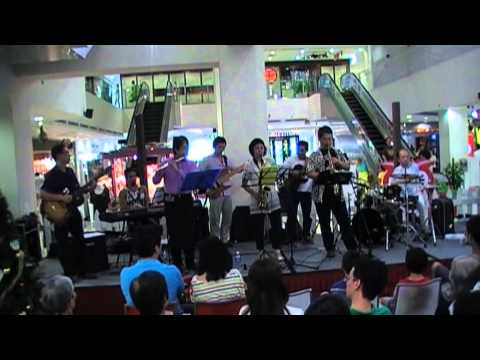 Ad-Liberty Full Band performed at Liang Court, Singapore on 23 Dec 2012