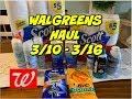 WALGREENS HAUL 3/10 - 3/16 | FREEBIES, 😱 CONTACT SOLUTION & MORE!