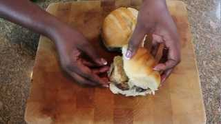 Jamaican Jerk Chicken Sandwich