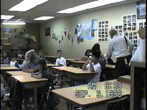 Cassandra's & Belladonna's 1st day at Valley View Elementary School, Duarte, CA.