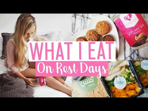 WHAT I EAT IN A DAY - On Rest Days