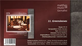 Greensleeves (11/13) [Public Domain Song] - CD: Hintergrundmusik zur Beschallung, Vol. 1