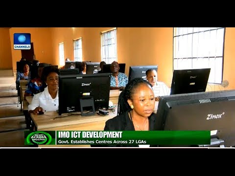 Imo Govt Establishes ICT Centres Across 27 LGA |News Across Nigeria|