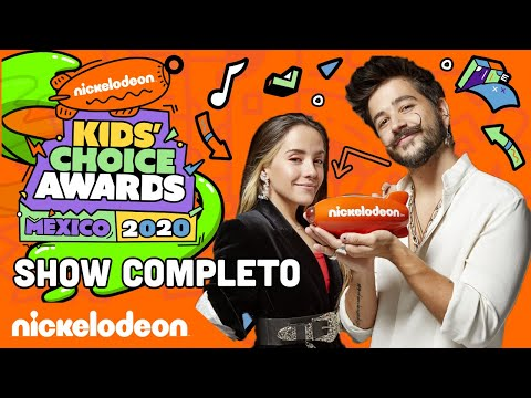 ¡KIDS' CHOICE AWARDS MÉXICO 2020: Show COMPLETO! | Nickelodeon en Español