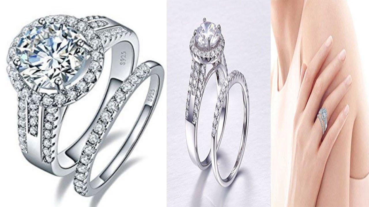 Diamond Earrings Designs Catalogue 2017। Diamond Rings Collection ...