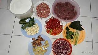 Masak Rendang Sapi 2 kg  - Resep Asli orang padang