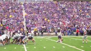 K-State TD, Crowd taunts Mizzou fans with SEC chant.