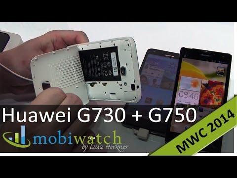 Huawei Ascend G730 und G750 im ersten Test