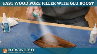 How to Create a Smooth Wood Finish with Glu Boost Fill 'N Finish