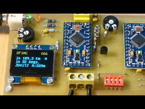 Arduino Decoder for APRS monitoring with using OLED as well as MP3-Player