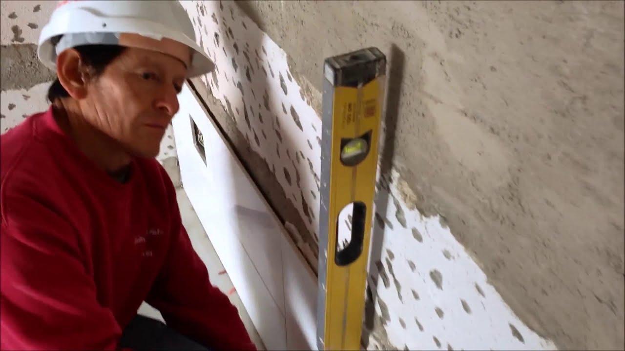 ALICATADO DE GRES PORCELANICO - YouTube